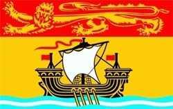 Neubraunschweig / New Brunswick Flagge 90x150 cm