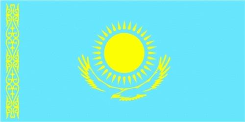 Kasachstan Flagge 90x150 cm