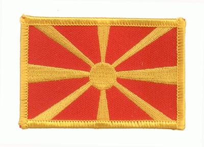 Mazedonien Aufnäher / Patch