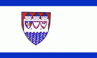 Steinburg Landkreis Flagge 90x150 cm,160 Dernier (G)