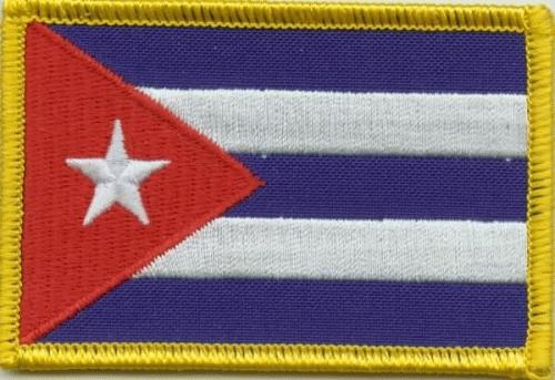 Kuba Aufnäher / Patch