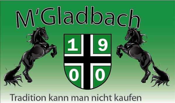Mönchengladbach Tradition kann man nicht kaufen Flagge 90x150 cm