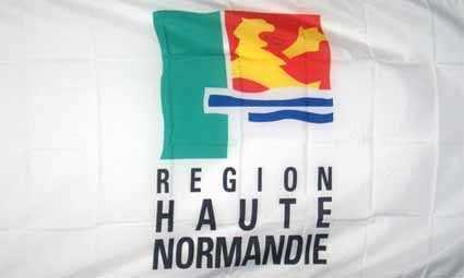 Haute-Normandie Regionalrat Flagge 90x150 cm