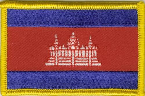 Kambodscha Aufnäher / Patch