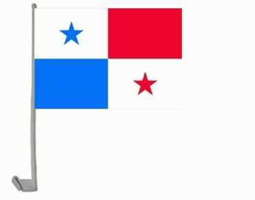 Panama Autoflagge 30x45 cm
