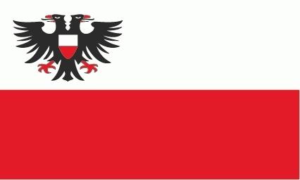 Lübeck Flagge 90x150 cm