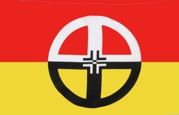 Healing Flagge 90x150 cm