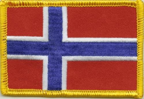 Norwegen Aufnäher / Patch
