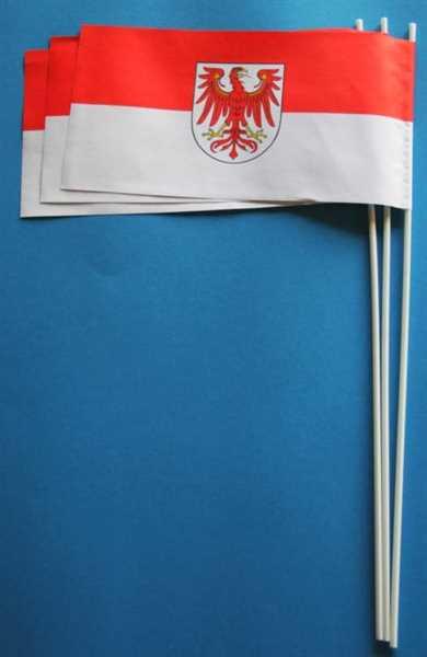 Brandenburg Papierflagge VPE 50 Stück