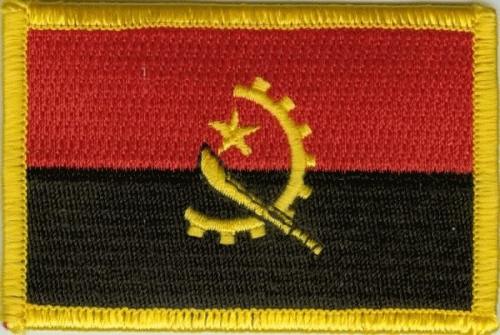 Angola Aufnäher / Patch