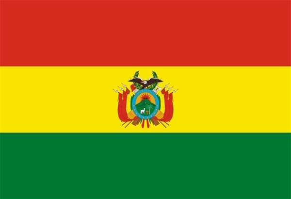 Bolivien Flagge 90x150 cm