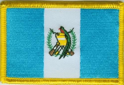 Guatemala Aufnäher / Patch