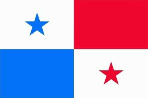 Panama Bootsflagge 30x45 cm