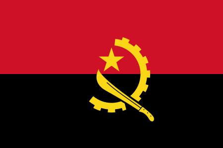 Angola Flagge 90x150 cm