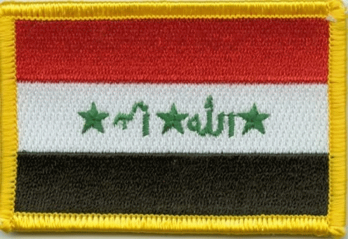 Irak Aufnäher / Patch